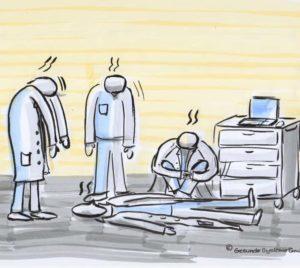 Burn-out bei Mitarbeitern in Gesundheitseinrichtungen