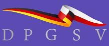 """Logo des Deutsch-Polnischen Gesundheits- und Sozialverbandes e.V. auf derLogo der Oder-Partnerschaft auf der Fachkonferenz Gesundheitswirtschaft und Gesundheitswesen im Rahmen der """"Oder-Partnerschaft"""" März 2018"""