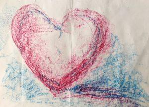 Ergebnis des Kunsttherapie-Workshops: 'Wie möchte ich gesehen werden'