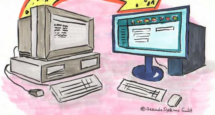 Altdatenübernahme Im Krankenhaus Bei Einführung Eines Neuen IT-Anwendungssystems