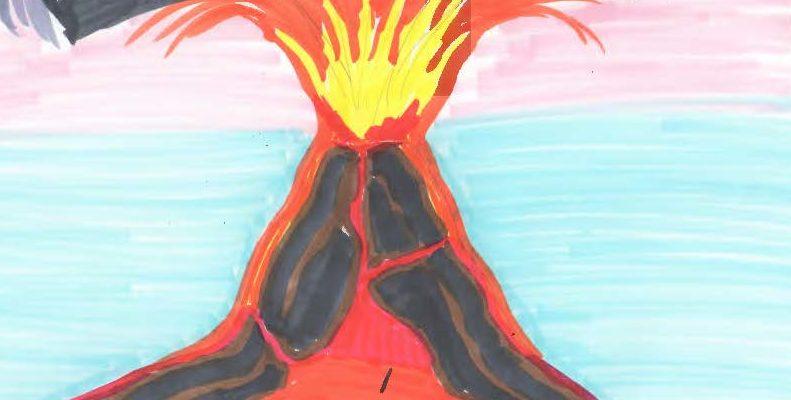 Emotionen Im Krankenhaus Als Vulkan