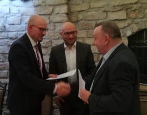 Unterzeichnung des Letter of Intend der Polnisch-Deutschen Kooperation