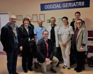 Besuch im Krankenhaus des Innenministeriums in Warschau