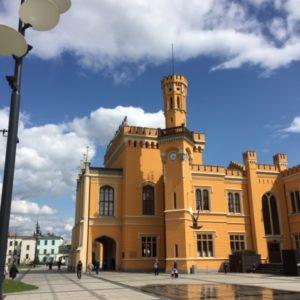 der wundervoll sanierte Bahnhof von Breslau