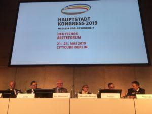 Die sechs Teilnehmer auf dem DPGSV-Panel auf dem Hauptstadtkongress
